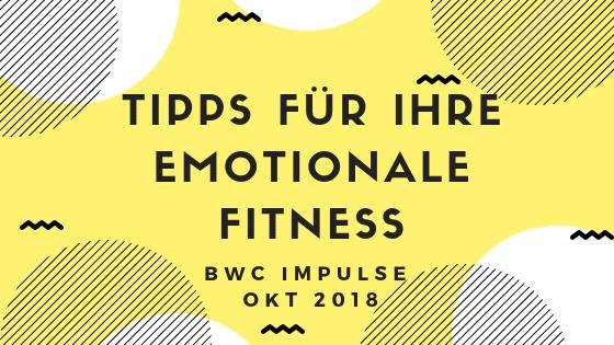 Tipps für Ihre Emotionale Fitness